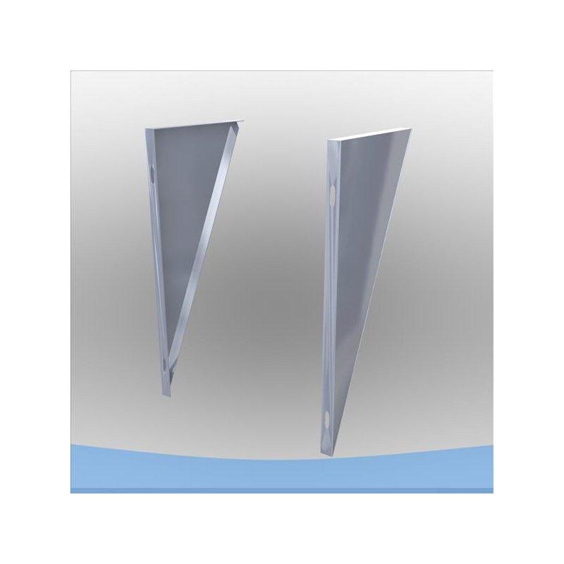 edelstahlschornstein konsolbleche verstellbar 150 mm dw 150 49 72. Black Bedroom Furniture Sets. Home Design Ideas