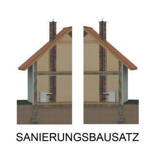 Schornsteinsanierungs Bausatz 0,5 mm