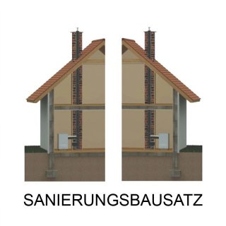 Schornsteinsanierungs Bausatz 1,0 mm